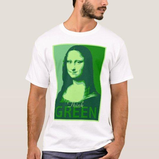 Mona Lisa is Green T-Shirt