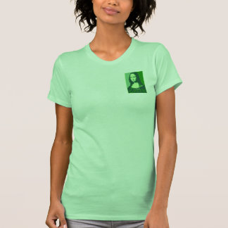 Mona Lisa is Green T Shirts