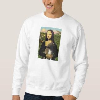 Mona Lisa - Italian Greyhound Sweatshirt