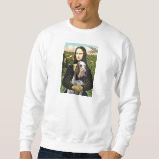Mona Lisa - italiano Spinone (10) melado Sudaderas Encapuchadas