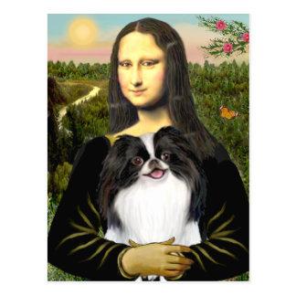 Mona Lisa - Japanese Chin 3 Postcard