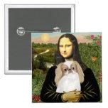 Mona Lisa - Japanese Chin (L1) Pins