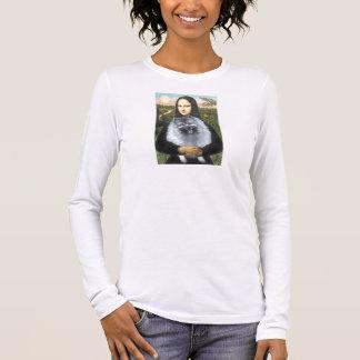 Mona Lisa - Keeshond (F) Long Sleeve T-Shirt