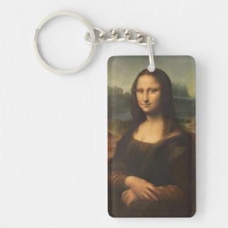 Mona Lisa Acrylic Key Chain