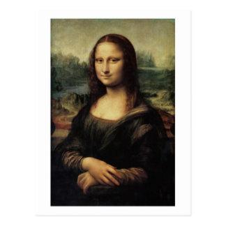 Mona Lisa la Gioconda by da Vinci postcard