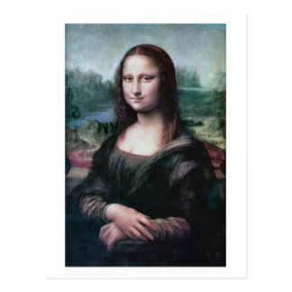 Mona Lisa la Gioconda by da Vincipostcard Postcard