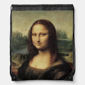 Mona Lisa La Gioconda by Leonardo da Vinci Backpacks