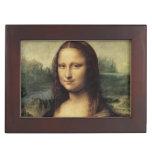 Mona Lisa La Gioconda by Leonardo da Vinci Memory Box