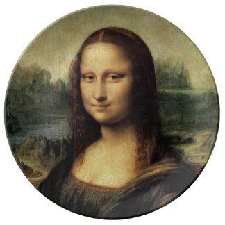 Mona Lisa La Gioconda by Leonardo da Vinci Plate