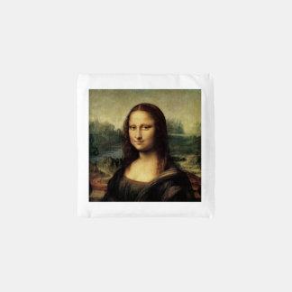 Mona Lisa La Gioconda by Leonardo da Vinci Reusable Bag
