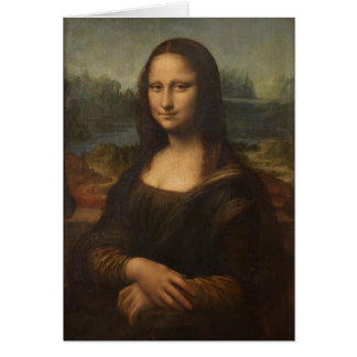 Mona Lisa (La Gioconda) Card