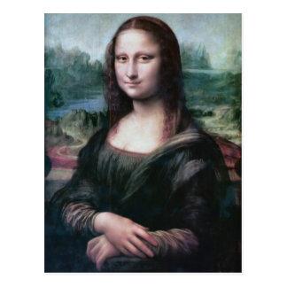 Mona Lisa la Gioconda Leonardo da Vinci postcard