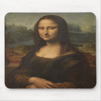 Mona Lisa (La Gioconda) Mouse Pad