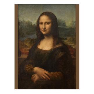 Mona Lisa ... Leonardo da Vinci ~ 1503-1517 Postcard
