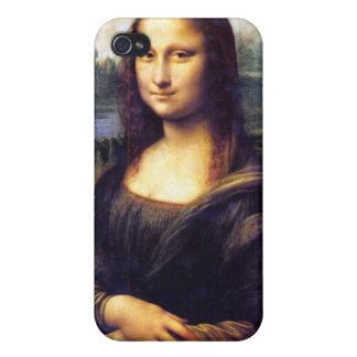 Mona Lisa, Leonardo da Vinci iPhone 4 Fundas