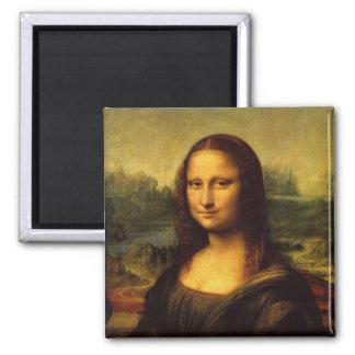 Mona Lisa Leonardo da Vinci Imán Cuadrado
