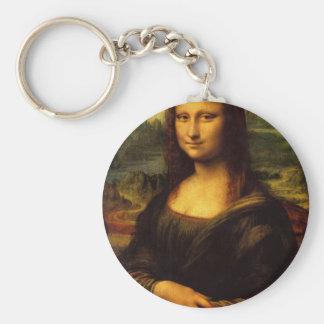 Mona Lisa - Leonardo da Vinci Llavero Redondo Tipo Pin