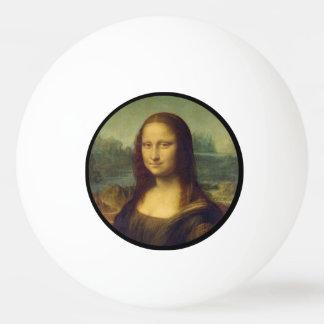 Mona Lisa - Leonardo da Vinci Pelota De Tenis De Mesa