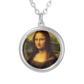 Mona Lisa Leonardo da Vinci Portrait Necklaces