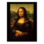 Mona Lisa Leonardo da Vinci Postal
