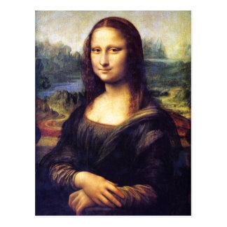 Mona Lisa, Leonardo da Vinci Postcard