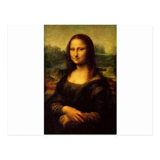 Mona Lisa - Leonardo da Vinci Tarjeta Postal