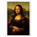 Mona Lisa - Leonardo da Vinci Tarjetón