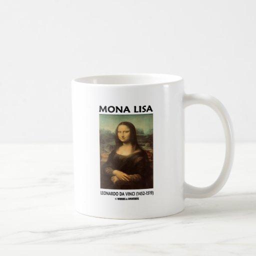 Mona Lisa (Leonardo da Vinci) Taza Básica Blanca