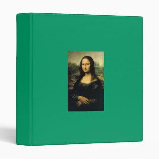 Mona Lisa - Leonardo DaVinci Binder