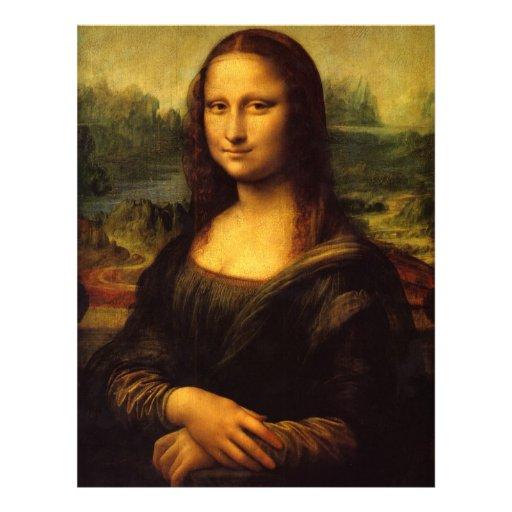 Mona Lisa Letterhead