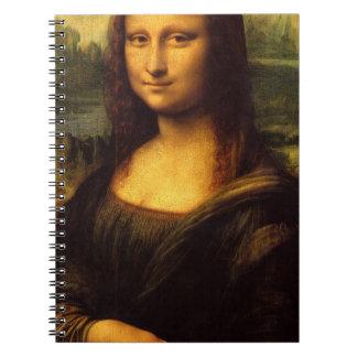 Mona Lisa Libros De Apuntes Con Espiral