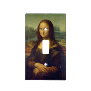 Mona Lisa Light Switch Cover