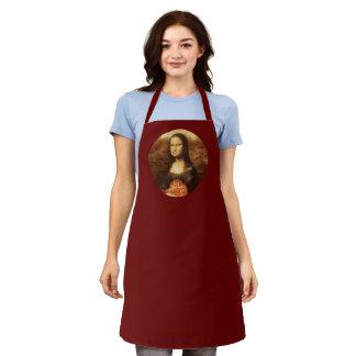 Mona Lisa Likes Valentine's Candy Apron