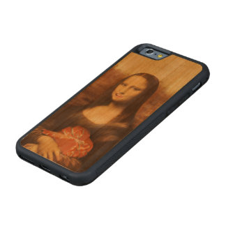 Mona Lisa Likes Valentine's Candy Carved® Cherry iPhone 6 Bumper Case