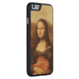 Mona Lisa Likes Valentine's Candy Carved® Maple iPhone 6 Slim Case
