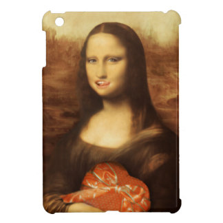 Mona Lisa Likes Valentine's Candy iPad Mini Cover