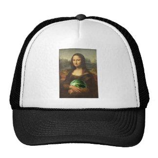 Mona Lisa Loves Watermelons Trucker Hat