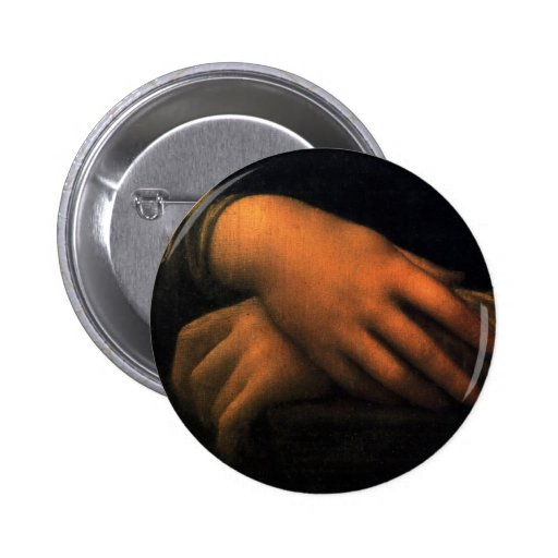 Mona Lisa - manos Pin