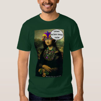 Mona Lisa Mardi Gras Shirt