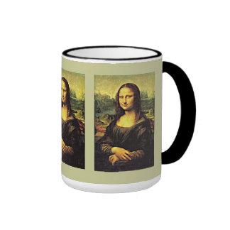 Mona LIsa Ringer Coffee Mug
