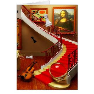 Mona Lisa Music Art. Mona Lisa Products by Lenny Card