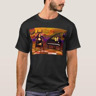 Mona Lisa Music Art. Mona Lisa Products by Lenny T-Shirt