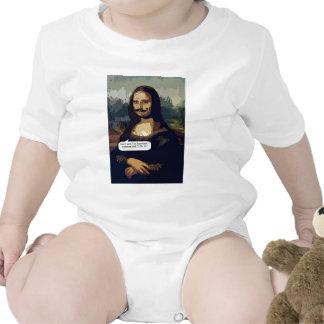 Mona Lisa Needs A Good Waxing T-shirts