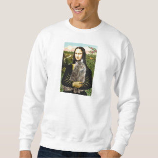 Mona Lisa - Norweigan Forest Cat Sweatshirt