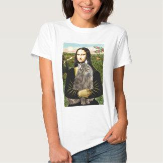 Mona Lisa - Norweigan Forest Cat T-Shirt