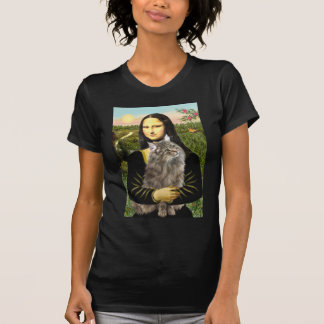 Mona Lisa - Norweigan Forest Cat Tshirt