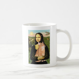 Mona Lisa - Orange Tabby SH 46 Coffee Mugs