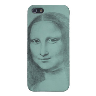 Mona Lisa - original pencil drawing by Molly iPhone SE/5/5s Case