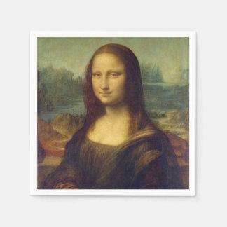 Mona Lisa Paper Napkin