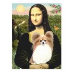 Mona Lisa - Papillon 4 Postal